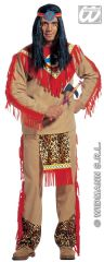 Sitting Bull Red Indian Costume